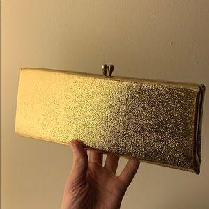 Vintage Gold Evening Clutch